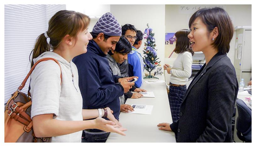 日本東京国際学院の充実したサポート