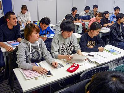 日本東京国際学院 授業風景3