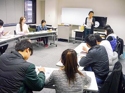 日本東京国際学院 授業風景6