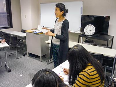 日本東京国際学院 授業風景5